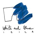 White and Blue Ibiza